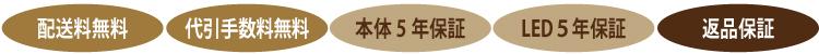 インテリア壁掛け仏壇「鏡壇ミラリエ」購入時の各種保証