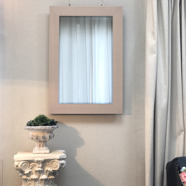 インテリア壁掛け仏壇「鏡壇ミラリエ」エレガンスホワイト設置例-02